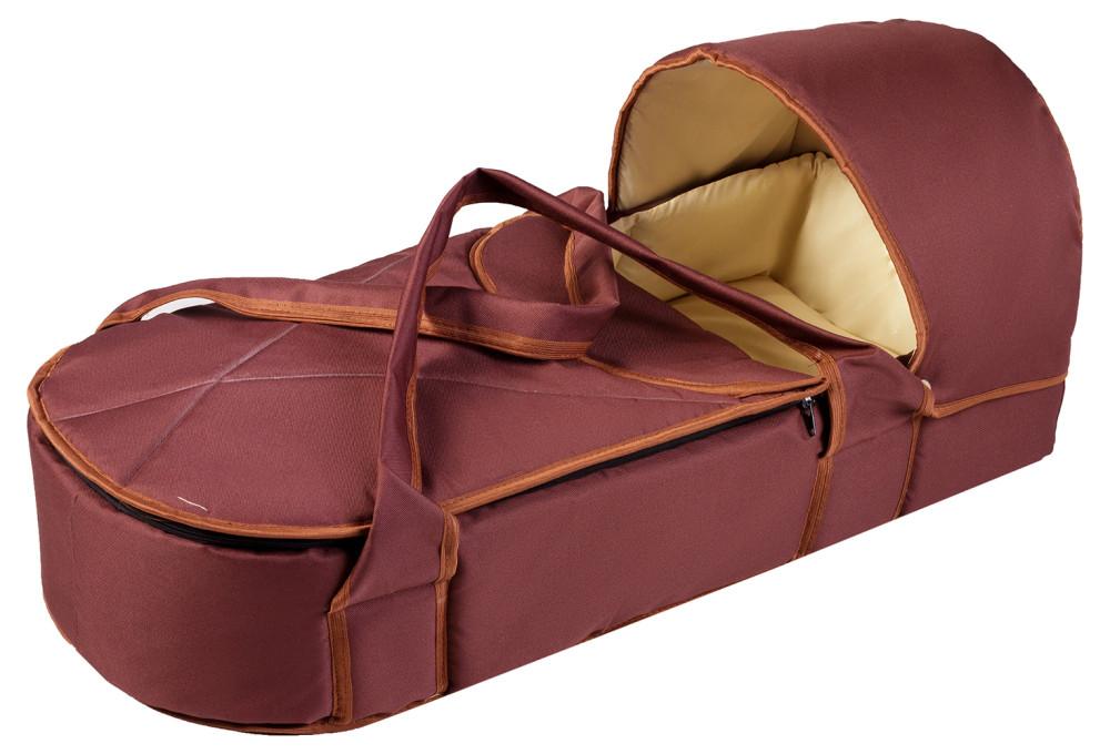 Люлька-переноска Babyroom BLP-055 с твердым дном  шоколад