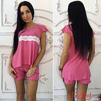 Пижама Женская в Расцветках 32652 — в Категории