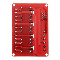 5V 4-канальный релейный модуль с оптоволоконным триггером для Arduino - 1TopShop, фото 2