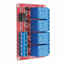 5V 4-канальный релейный модуль с оптоволоконным триггером для Arduino - 1TopShop, фото 3