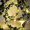 Батарея Powered 2M 5M Warm White Green Лист Garland Медь Провод Fairy String Light для Рождества - 1TopShop, фото 2
