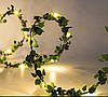 Батарея Powered 2M 5M Warm White Green Лист Garland Медь Провод Fairy String Light для Рождества - 1TopShop, фото 4