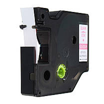 12mmx7m Пластиковая лента для этикеток. совместимая с Dymo D1 LetraTag 45015 Red On White - 1TopShop, фото 3