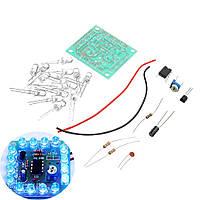 DIY 555 Мигающий сигнальный свет Набор Регулировка скорости мигания 1TopShop