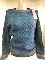 Вязаный женский свитер 00023 с.т., фото 1
