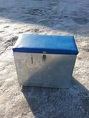 Ящик зимовий оцинкований великий з віконцем