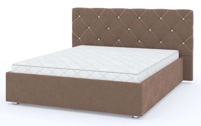 Кровать двуспальная Стелла 1-Росто-28, 2-Росто-23