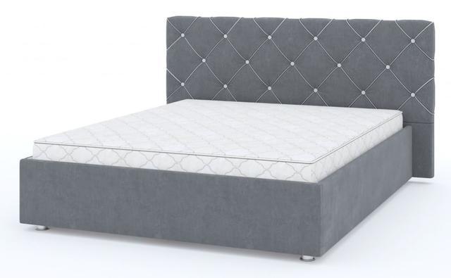 Кровать двуспальная Стелла 1-Росто-97, 2-Росто-83