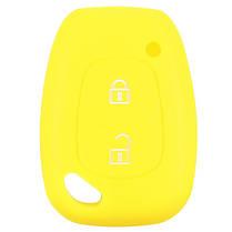 Мягкий силиконовый смарт-брелок для ключей крышка корпуса 2 Кнопка для Renault Kangoo мастер Trafic - 1TopShop, фото 2