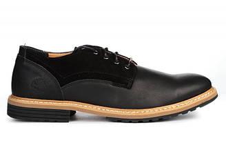 Оригинальные мужские туфли броги Timberland Earthkeepers Borg - Black тимберленд черные