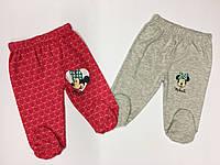 Ползунки для новорожденных девочек