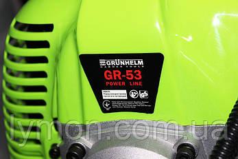 Мотокоса GRUNHELM GR-53 Power line мощ.2,8кВт, фото 2