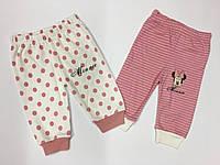 Штанишки для новорожденной девочки