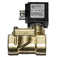 Электромагнитный клапан 21WA4KOB130 непрямого действия НЗ 2-ход Ду 15