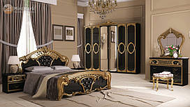 Спальня Реджина Черная 6Д Миро-Марк