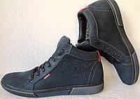 Wrangler Мужские зимние кеды ботинки натуральная кожа в спортивном стиле обувь  сапоги Вранглер, фото 1