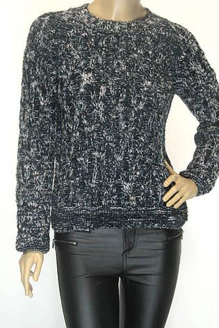 В'язаний светр  меланж  в пяти кольорах , фото 2