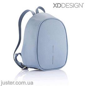 Рюкзак Bobby Elle Антивор Новинка 2019 Xd Design голубой (P705.225) light blue