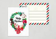 Новогодние мини открытки
