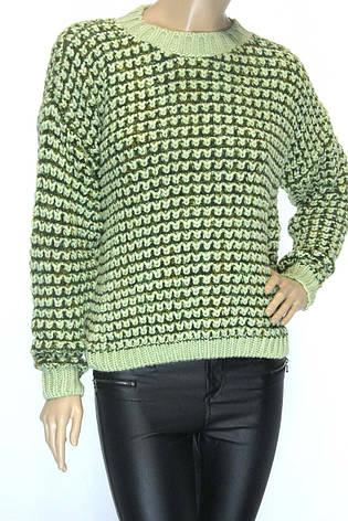 жіночий светр грубої вязки розмір 50-52, фото 2