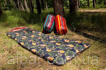 Спальный мешок (0/+8/+15) туристический для похода, для теплой погоды.