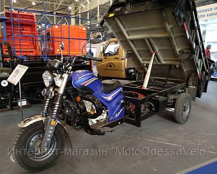 Трицикл Hercules Q3 -200 шасси самосвал, фото 2