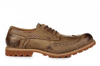 Оригинальные мужские туфли оксфорды Timberland Earthkeepers Oxford Brown тимберленд коричневые