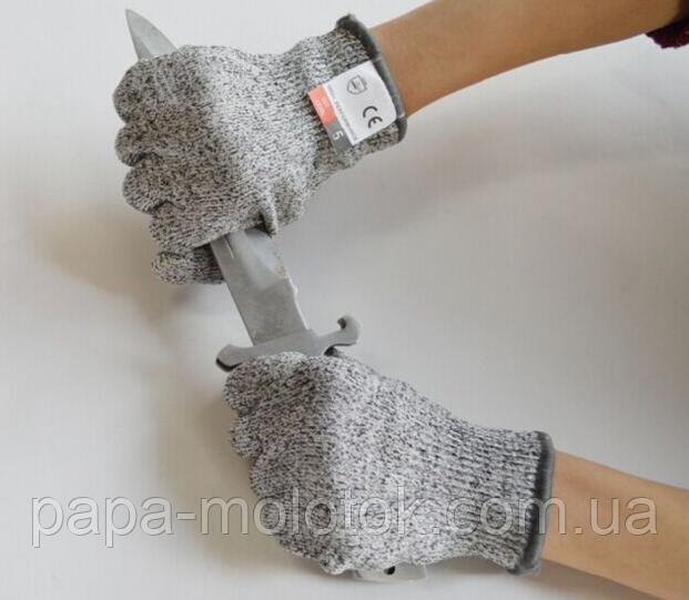 Перчатки кевларовые