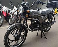 Мопед Musstang Альфа 110 серый