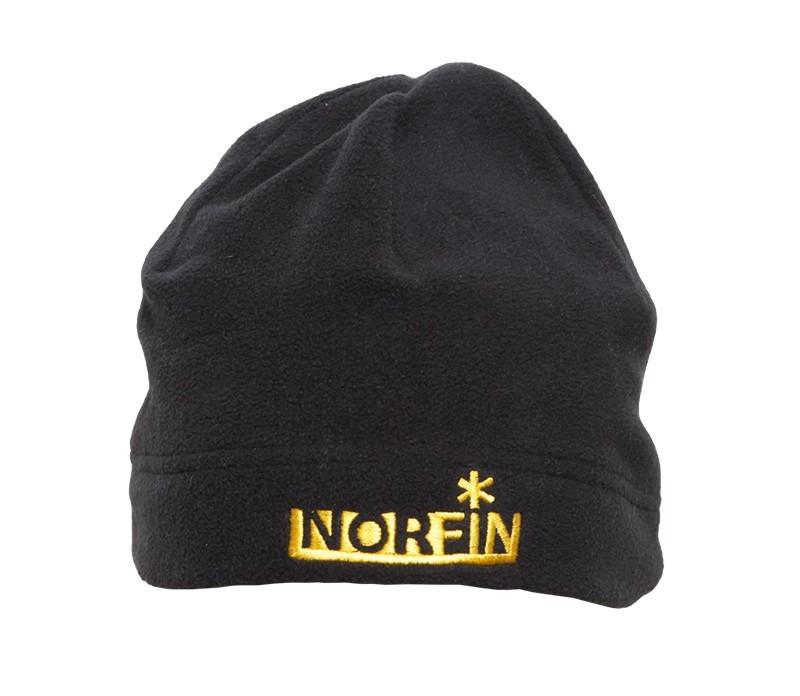 Шапка  флисовая Norfin FLEECE  (черная)