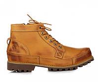 c6cb835d Мужские ботинки Timberland Earthkeepers Rugged Mid Classic Yellow  (Тимберленд) - светло-коричневые