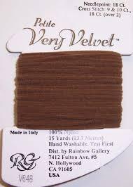 Нитка Rainbow gallery Petite Very Velvet