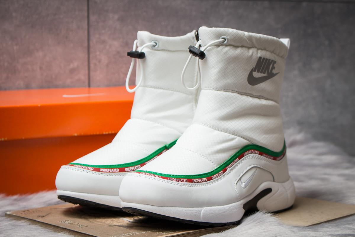 Зимние ботинки на меху Nike Apparel, белые (30633),  [  38 41  ]