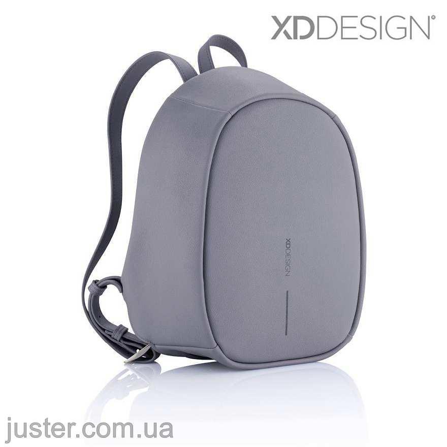 Рюкзак Bobby Elle Протикрадій Новинка 2019 Xd Design сірий (P705.222) Anthracite