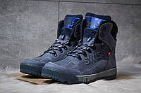 Зимние ботинки на меху Switzerland Swiss, темно-синий (30642),  [  45 (последняя пара)  ], фото 1