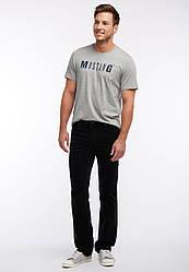 Брюки вельветовые мужские черные Tramper от Mustang jeans в размере W32/L34