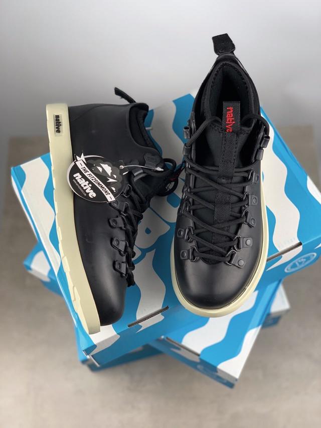 Ботинки Native Fitzsimmons черного цвета фото