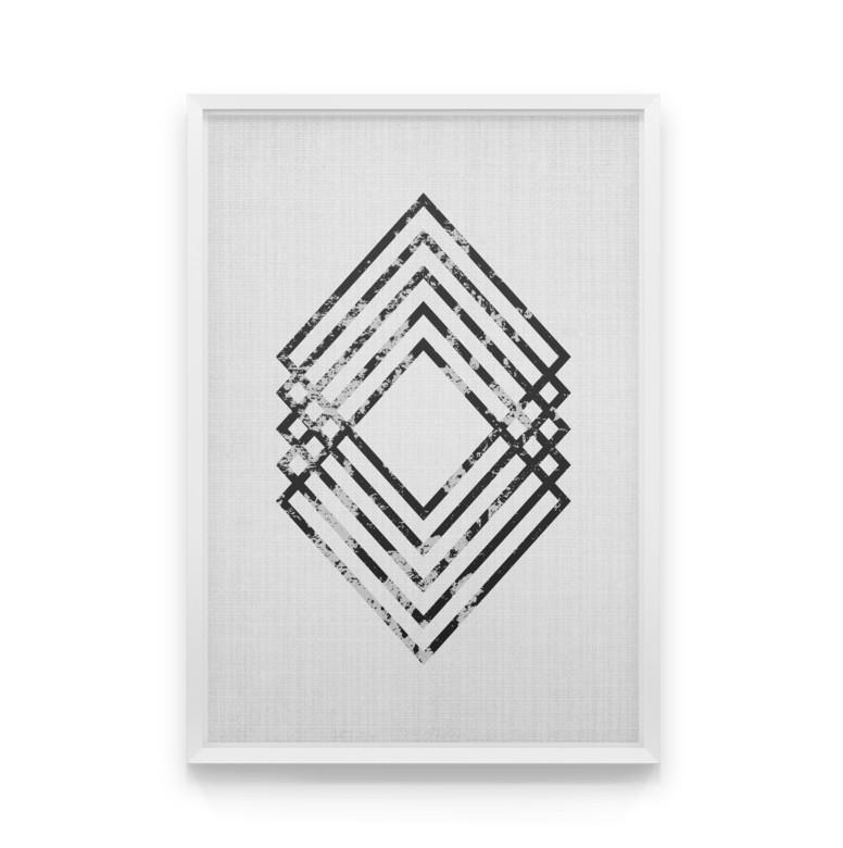 Постер на стену Cube