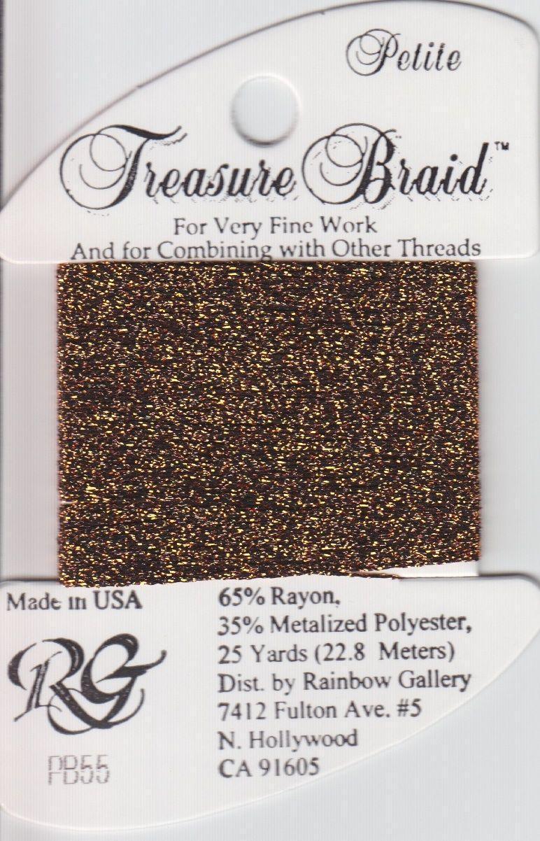 Нитка RAINBOW GALLERY Treasure Braid Petite