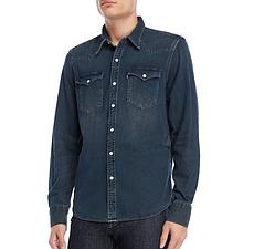 Джинсовая рубашка Levis Denim Western - Tint Dark (М)