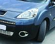 Хром окантовка на противотуманки Peugeot Partner, фото 10