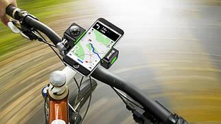 Держатель для телефона на руль велосипеда с компасом и подсветкой