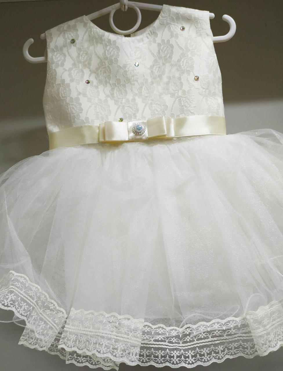 92320f8080fcd7b Детское нарядное бальное платье для праздников и торжеств. Возраст 1-2  года. -