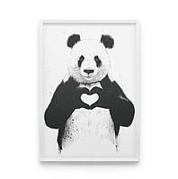 Постер на стену С любовью с пандой