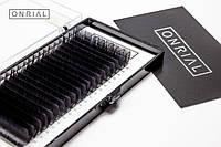 Ресницы черные одна длина \ изгиб СС, D, С \ толщина 0,15 , фото 1
