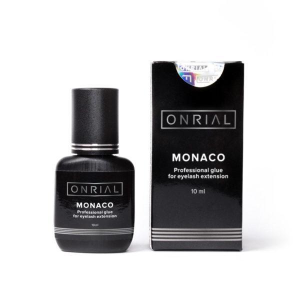 Профессиональный черный клей для наращивания ресниц «Monaco», 0,5 сек. 2 мл
