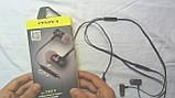 Наушники Awei ES-70TY гарнитура с плоским кабелем и пультом управления, фото 2