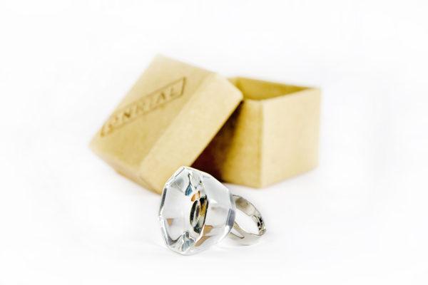 Стеклянное кольцо для клея