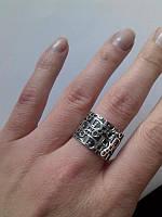 Серебряное Кольцо Диор
