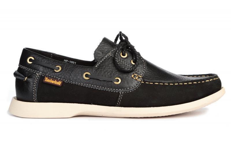 Оригинальные мужские туфли лодочки Timberland Kia Wah Bay 2-Eye Boat Black тимберленд черные